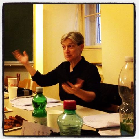 Foto: Privatissimum on vulnerability with Judith Butler, 7 May 2014, University of Vienna